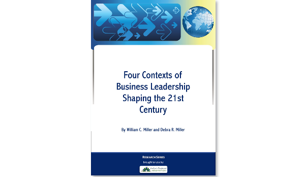 Four contexts of business leadership shaping the 21st century