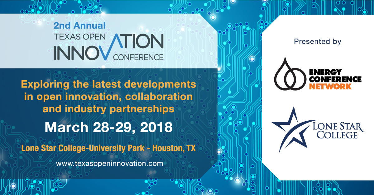 Texas Open Innovation Conference Houston, Texas March 2018