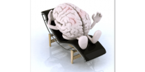 Does your brain hurt? Then stop using it!
